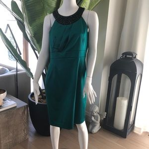Brand new with tags - emerald green dress